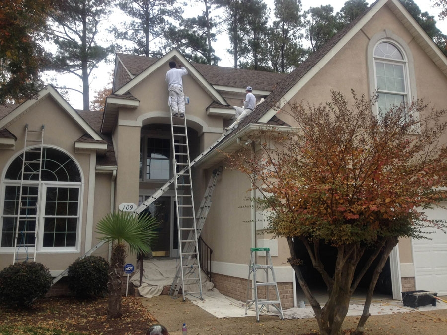 Painting contractors in newport news va Exterior commercial painting
